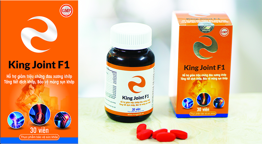 King Joint F1 bảo vệ xương khớp toàn diện