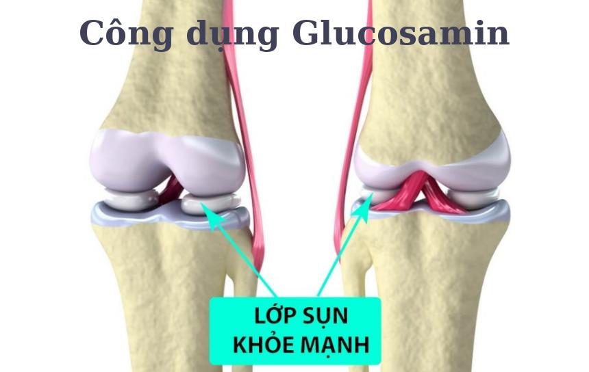 Sử dụng glucosamin rất tốt cho xương khớp