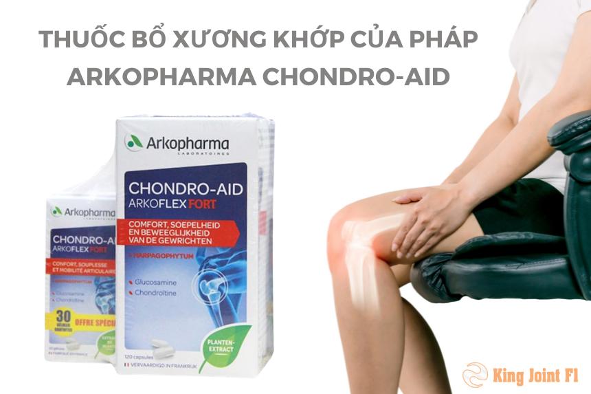 Thuốc bổ xương khớp của PHÁP Arkopharma Chondro-Aid