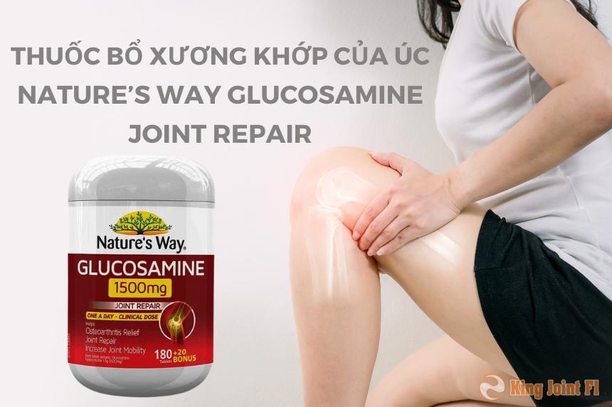 Thuốc bổ xương khớp của úc Nature's Way Glucosamine Joint Repair